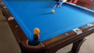 Billiard Tutorial: How to Aim & Cue Ball Control!!! – McDiggles