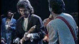 George Harrison and Eric Clapton  – While my guitar gently weeps
