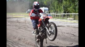 Almost top 20 on the Double D Powersports XR650L