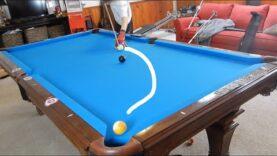 How to Curve a Pool Ball | The BASICS of a Massé