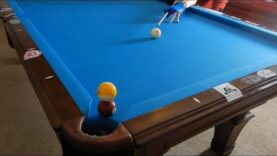 STACKED POOL BALL TRICK SHOTS!
