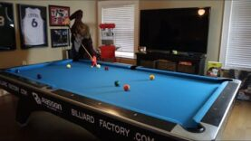 Top 5 Shots Of The Mosconi Cup Recreated On The Mosconi Cup Table!